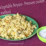Vegetable Biryani-Pressure Cooker Method