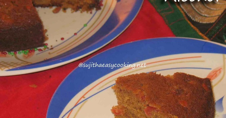Christmas Cake – No – Alcohol