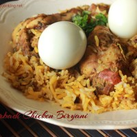 Hyderabadi Chicken Biryani/Chicken Biryani