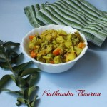 Kathamba thooran/Mixed Vegetable Stir Fry