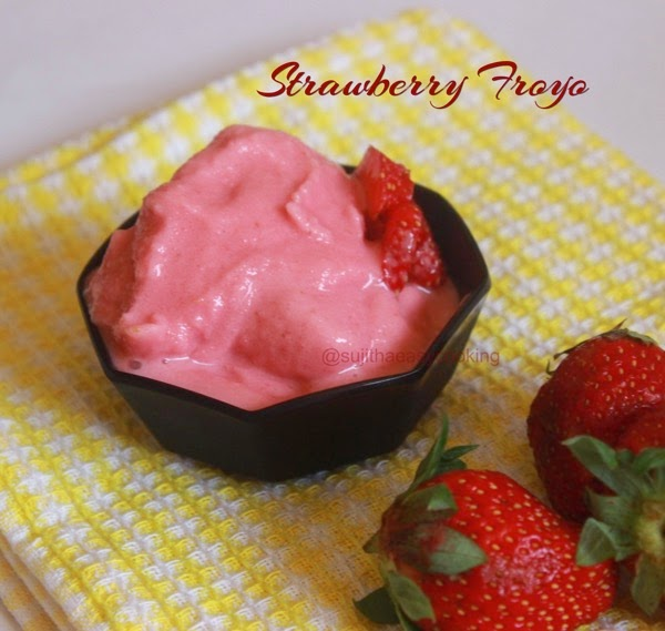 Strawberry FroYo