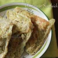 Omelette in Sandwich Maker