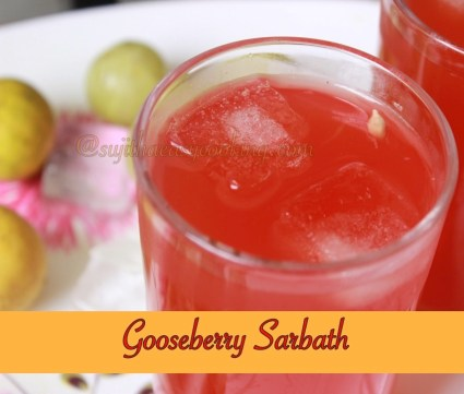 Gooseberry Sarbath2