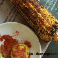 Lemon and Chilli Corn on the Cob