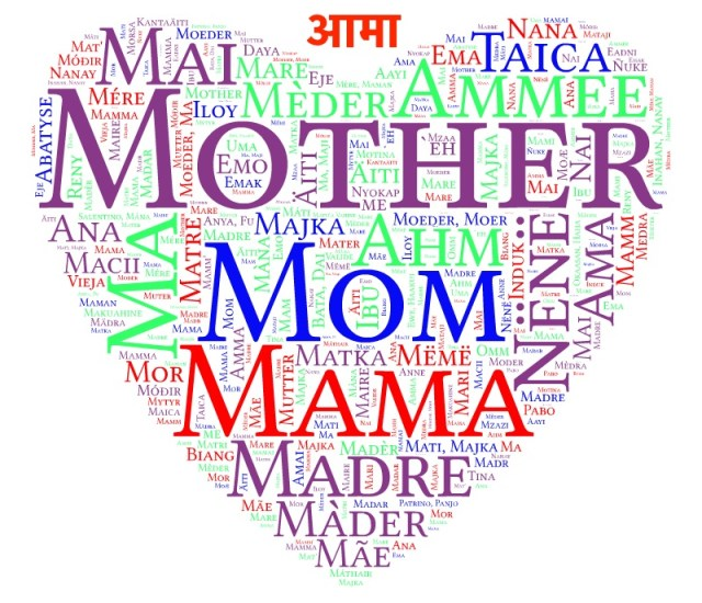 mother in different language