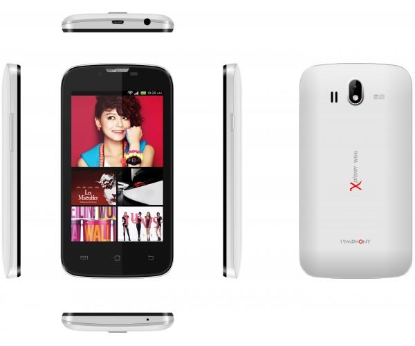 Symphony Xplorer W66: Full Phone Specifications & Price