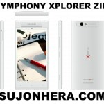 Symphony Xplorer ZIII: Full Phone Specifications & Price