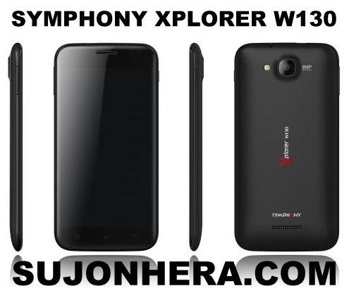 Symphony Xplorer W130 Specifications Price Photo
