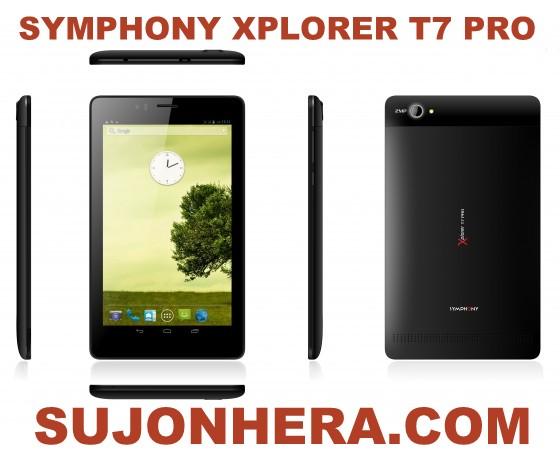 Symphony Xplorer T7 Pro Tab Specifications & Price