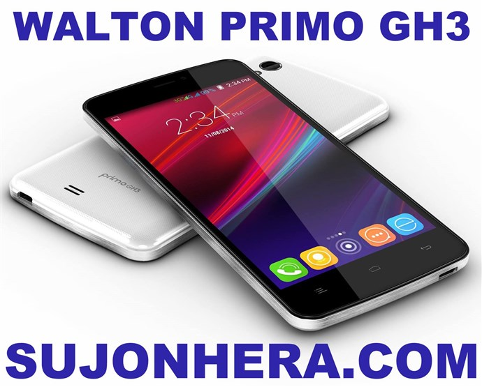 Walton Primo GH3 Android Phone Full Specifications & Price