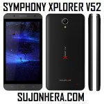 Symphony Xplorer V52: Full Phone Specifications & Price