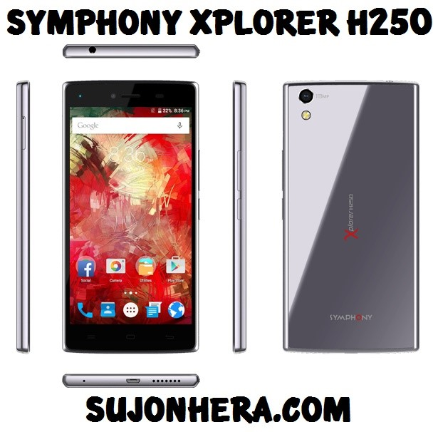 Symphony Xplorer H250 Full Phone Specifications & Price