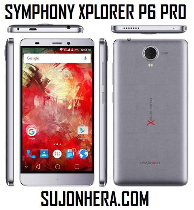 Symphony Xplorer P6 Pro Full Phone Specifications & Price