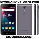 Symphony Xplorer ZVIII: Full Phone Specifications & Price