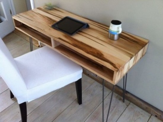 Amazing 8 ft computer desk #diy #gaming #corner #dekstops # forsmallspaces #workstations #creative #hidden #computer #desk
