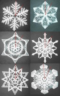 Amazing 3d paper snowflakes to buy #diy #craft #snowflake #howtomake #paper #art #decoration