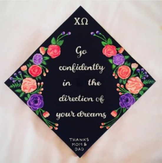 Good white graduation cap decoration #diy #craft #graduationcap #graduation #highschool #collage #funny #nursing #formen #forgirl