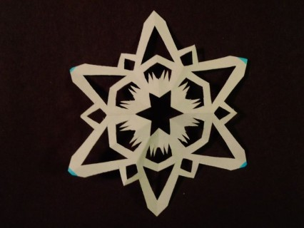 Awesome 3d snowflake cutout templates #diy #craft #snowflake #howtomake #paper #art #decoration