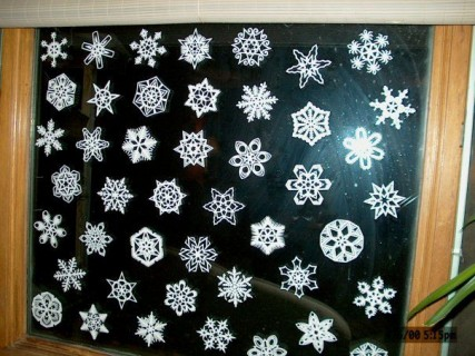 Easily 3d snowflake craft #diy #craft #snowflake #howtomake #paper #art #decoration