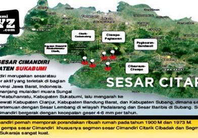 2 minggu 43 kali gempa goyang Sukabumi, 5 fakta aktivitas Sesar Citarik gen XYZ mesti waspada