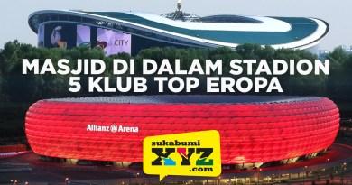 Gen Sukabumi XYZ udah tahu belum, 5 stadion klub top Eropa ada masjidnya lho