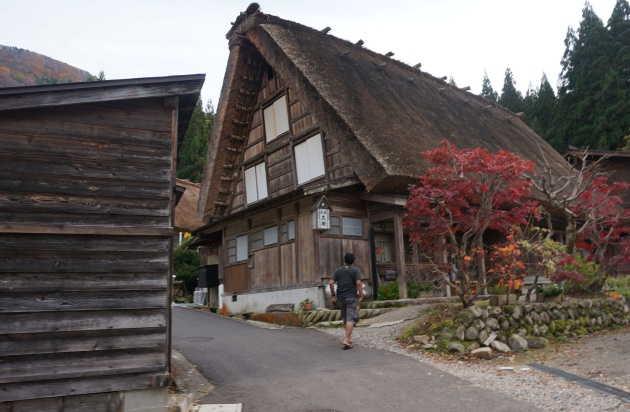 Rumah Tradisional Shirakawa Go 2