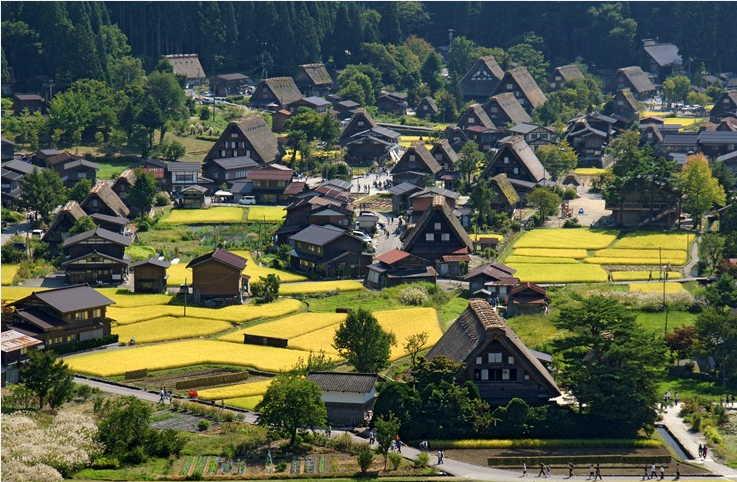 Warisan Dunia Shirakawago 2