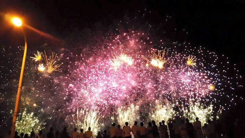 Foto Festival Kembang Api Musim Panas di Shibamata