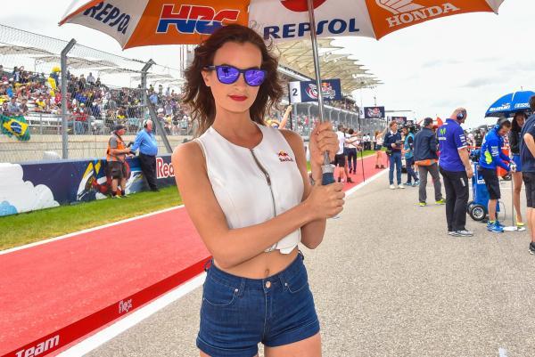 Gambar Gadis Litar Motor GP Amerika 2016 4
