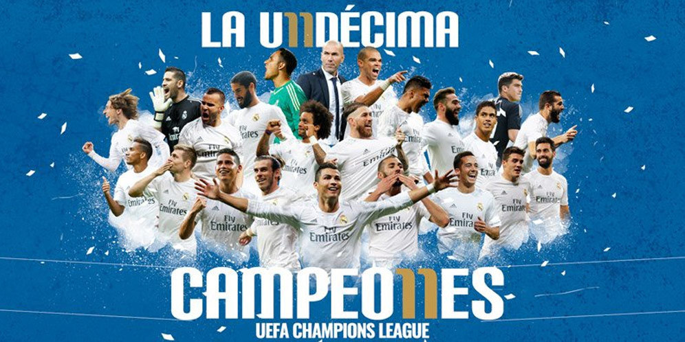 real madrid champion league