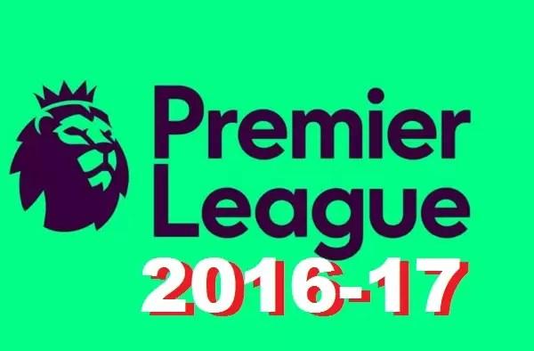 Jadual perlawanan Liga Perdana Inggeris