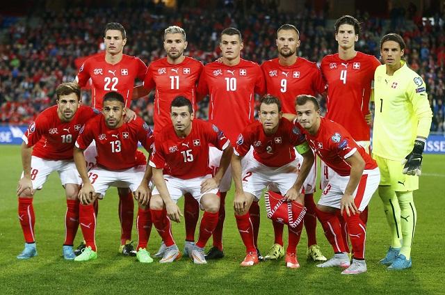 Senarai Pemain Switzerland Untuk EURO 2016