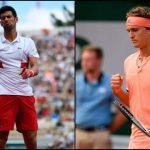 Tenis Terbuka Australia 2021 : Rekod Pertemuan Novak Djokovic vs Alexander Zverev