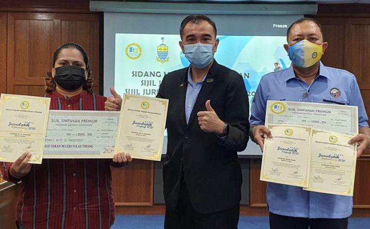 Shamani and Nasir clinch Penang's Coach Excellence Awards