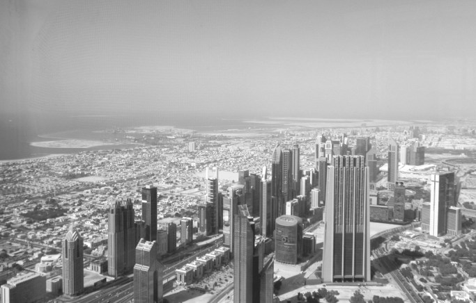 Dubai- A city squeezed between a desert and a sea