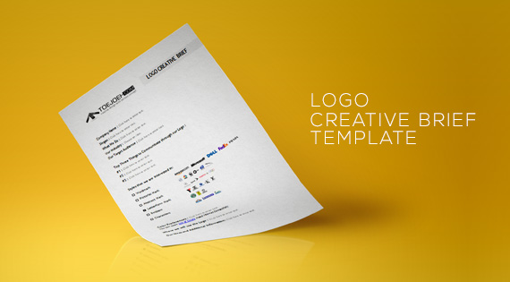 FREE Template Logo Creative Brief