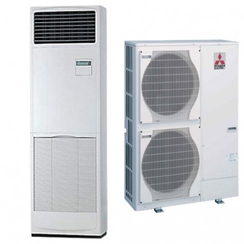 Mitsubishi Floor Standing AC 4 Ton PS Series 5JJ Heat and Cool 1