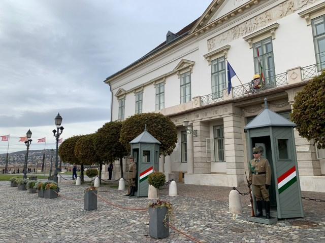 Президентская резиденция в Будапеште