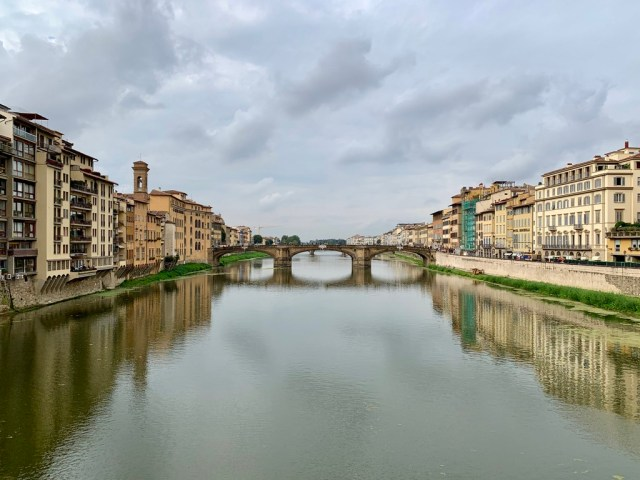Река Арно (Arno), Florence, Italy