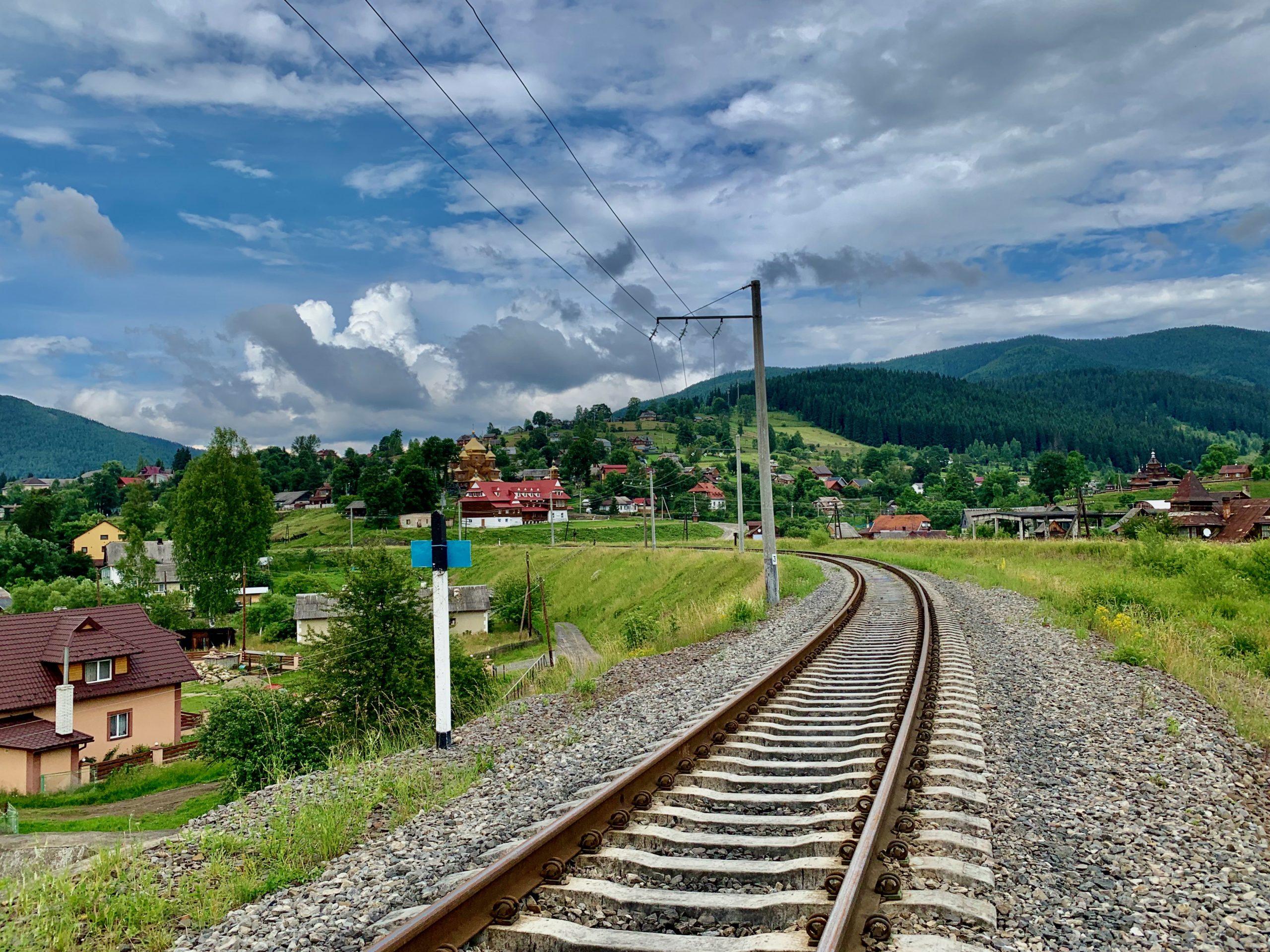 Железная дорога в Ворохте