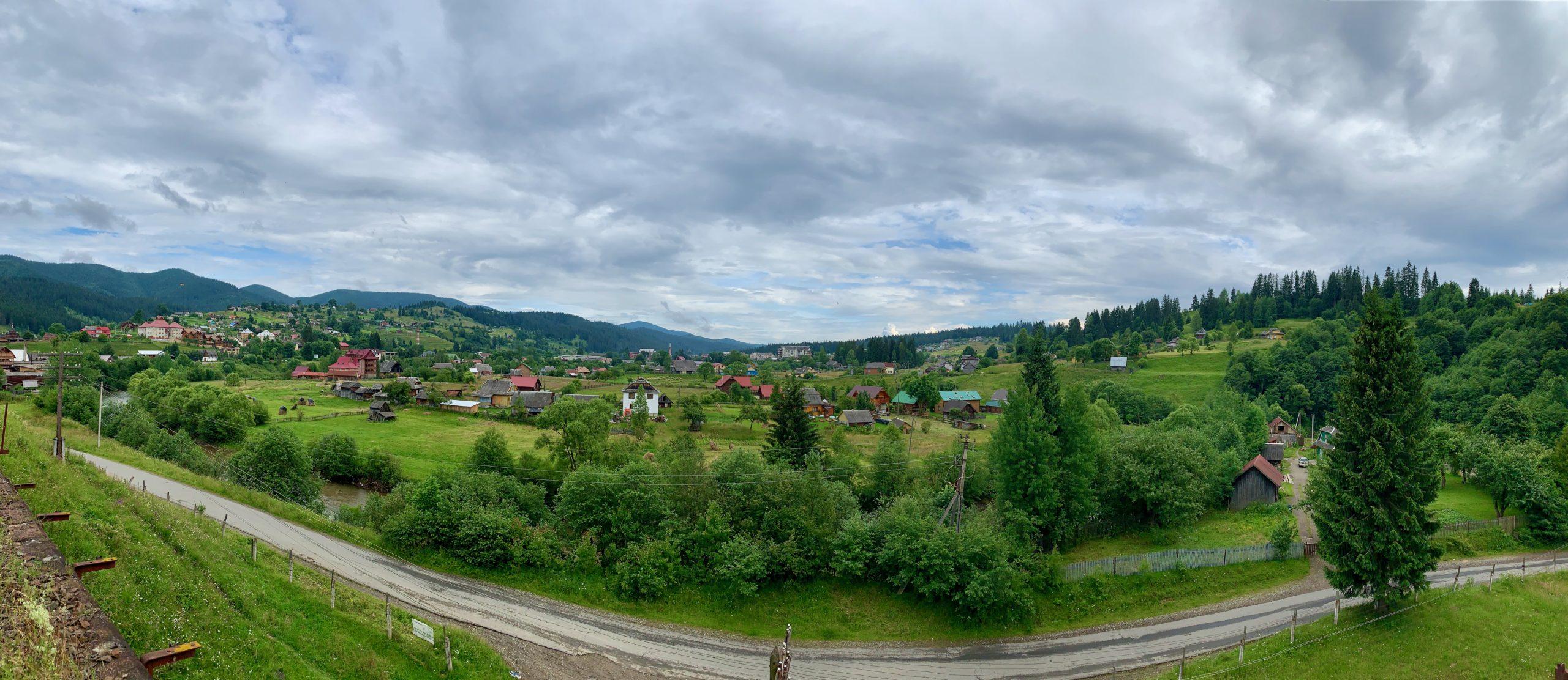 Ворохта - панорама