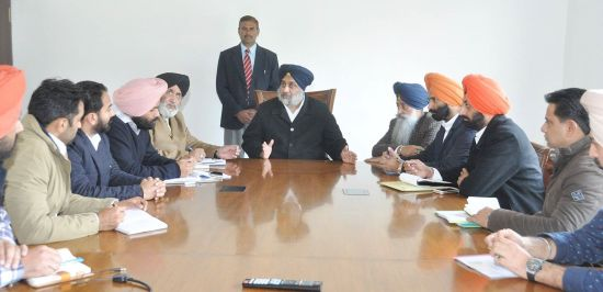 Interaction with the Leaders of YAD and SOI - Sukhbir Singh Badal (3)