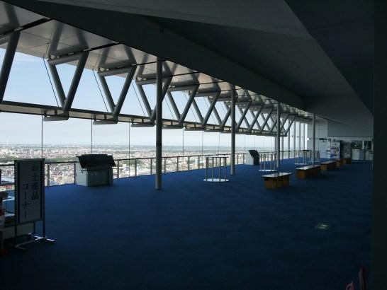 茨城県庁25階・展望室