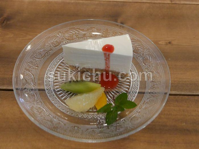 フレンチカフェドゥージイエムエテ水戸レアチーズケーキ