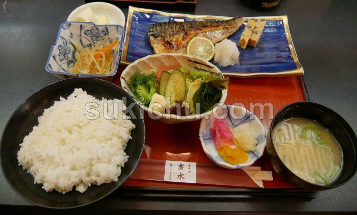 日本料理吉水水戸日替定食
