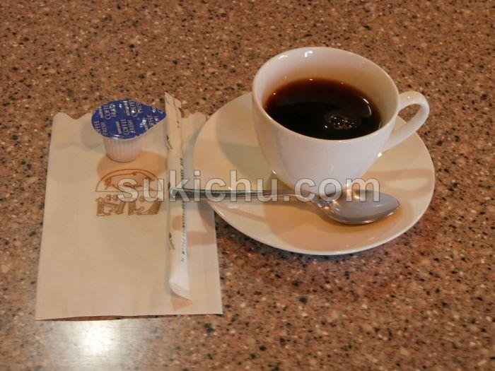レストランドルフ水戸ホットコーヒー