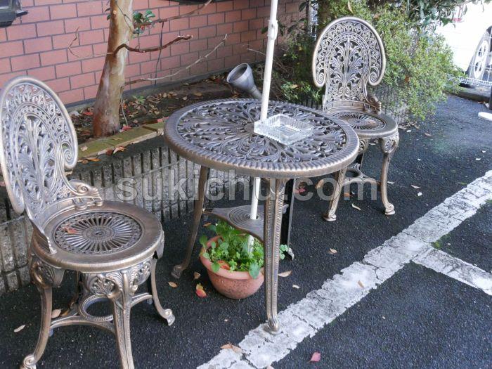 レストランドルフ水戸椅子・テーブル