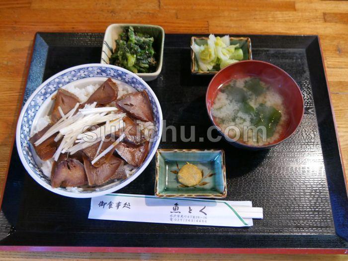 魚とく水戸トンタン丼