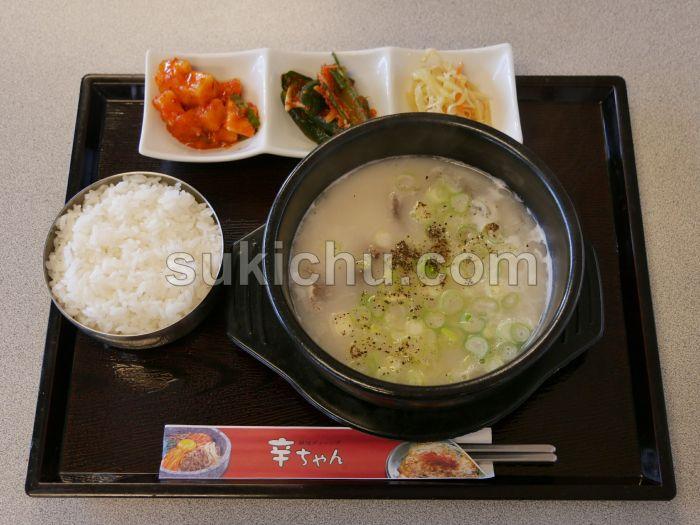 韓国ダイニング辛ちゃん水戸ソルロンタン
