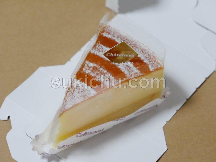 シャトレーゼ水戸姫子店ふわふわスフレチーズケーキ